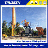 Small Type and Portable 35m3/H Concrete Batching Plant