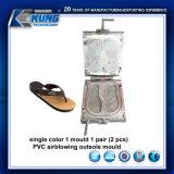 Best Price Single Color 1 Mould 1 Pair PVC Airblowing Outsole Mould Shoe Mould