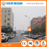 P4.8, P5.9, P6.25mm Outdoor Street LED Banner Display Screen