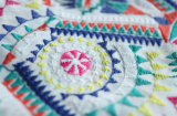 New Colorful Embroidery Lace Fabric for Stage Cloth and Garment