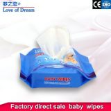 2019* New Products Baby Wipes Skin Care with Plastic Lip 30PCS/Bag