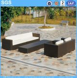 Leisure Furniture Dark Brown Wicker Sofa Set