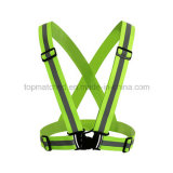 Elastic Series Sport Cycling Running Reflective Safety Vest for Outdoor Sport