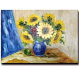 Factory Direct Wholesale 100%Handmade Oil Painting on Canvas, Still Life Flower