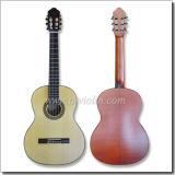 Smallman Style Solid Maple Back Mahogany Neck Classical Guitar (ACH40PX)