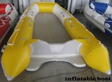Competitive Price Yellow Color Rowing Boat Drifting Boat Inflatable Boat with CE China