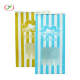 Cost Price Quickly Delivery Flat Bottom Cookies Kraft Paper Bags with Window