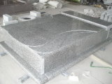 Granite Headstone Western Style Polised