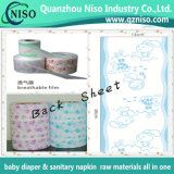 Breathable Laminated Backsheet Film for Baby Diapers in Different Styles