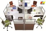 Modern Office Workstation Computer Desk for 4 Person