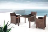 Rattan Furniture Outdoor Dining Table and Outdoor Chair