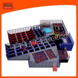 Patened Design Large Mich Indoor Kids Trampoline Bed
