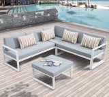Patio Garden Home Hotel Office Joya Aluminum Lounge Outdoor Morden Sofa (J678)