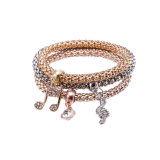 Fashion Zircon Diamond Multilayer Bracelet Bangle Jewelry