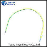 Custom Wholesale Yellow Green Electric Cable for Grounding with Terminal