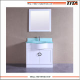 Hangzhou Factory Direct Wholesale Bathroom Cabinet with Tempered Glass Tops