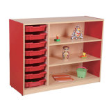 Colorful and New Design Kindergaten Cabinet