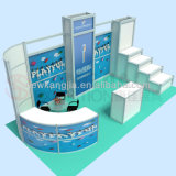Kj Hot Sale Fashion Alu3mx6m Exhibition Booth Design for Exhibition and 2018 Trade Show