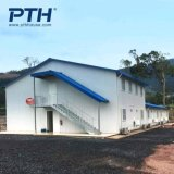 China Affordable Prefabricated Building with Light Stel Frame and Sanwich Panel