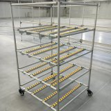 Flexible Lean Pipe for Warehouse Storage Rack, Aluminum Racking System