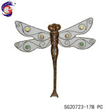 Metal Dragonfly Wall Hanging Arts for Home Decoration