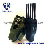 Handheld 8 Bands All Cellphone and WiFi Lojack GPS Signal Jammer with Nylon Case