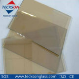 4-6mm Clear /Golden Reflective Glass for Decorative Glass