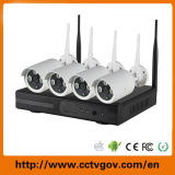 4CH SD Card 720p P2p Wireless WiFi Surveillance NVR Kits