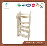3 Tiered Wooden Display Stand for Retail Store