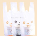 Cheap and Fine Shopping Bag Biodegradable PLA T-Shirt Plastic Bags Selling