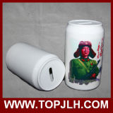 Sublimation Coke Can Ceramic Money Bank