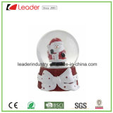 New Design Resin Water Ball Snowman Globe Figurine for Souvenir
