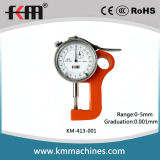 0-5mm Thickness Micron Dial Gauge with 0.001mm Graduation