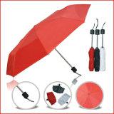 Hot Sell 21 Inch Cheap Custom Manual Open 3 Folding Supermini Umbrella
