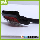 Plastic Handle Fashion Pet Brush (HN-PG235)