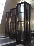 Home Furniture Folding Screen Decorative Stainless Steel Room Divider Partition