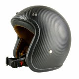 High Quality Carbon Fiber Open Face Helmet for Sale with DOT, Ce Approved