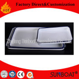 Rectangular Food Plate/Enamel Rectangular Tray/Kitchenware Pan