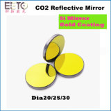 CO2 Laser Reflecting Lens Si with Gold Coating Diameter