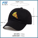 Embroidery Pizza Cotton Baseball Hats