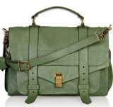 Green Crossbody with Two Belt Decoration Kk001