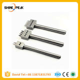 4mm Leather Spacing Hole Tool Leather Craft 1mm Hole Diameter Punch Tools Round Row Punch Drilling Tools 2/4/6 Prong Hole