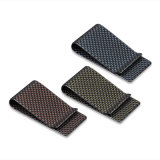 Custom Color Metal Carbon Fiber Money Clip Wallet Holder