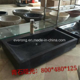 Natural Bluestone Wash Sink Stone Bowls Marble Bath Basin in Wholesale