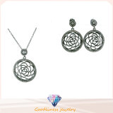 Wholesale Silver Fashion Women Jewelry Set Silver 925 (S3283)