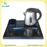 Stainless Steel Electric 1L Kettle Welcome Tray Set