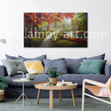 Handmade Forestry Landscape Oil Painting for Home Decor