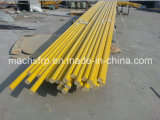 Corrosion & Impact Resistence FRP Pultruded Solid Tube with Finished Edge