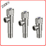 Stainless Steel Bathroom Tap Bibcock Angle Valve for Bathroom