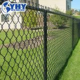 Cheap Diamond PVC Coated Wire Mesh Used Temporary Chain Link Fence Panels